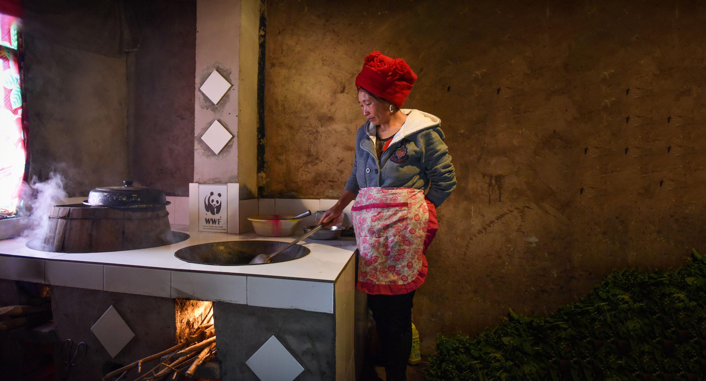 Ein energieeffizienter Ofen