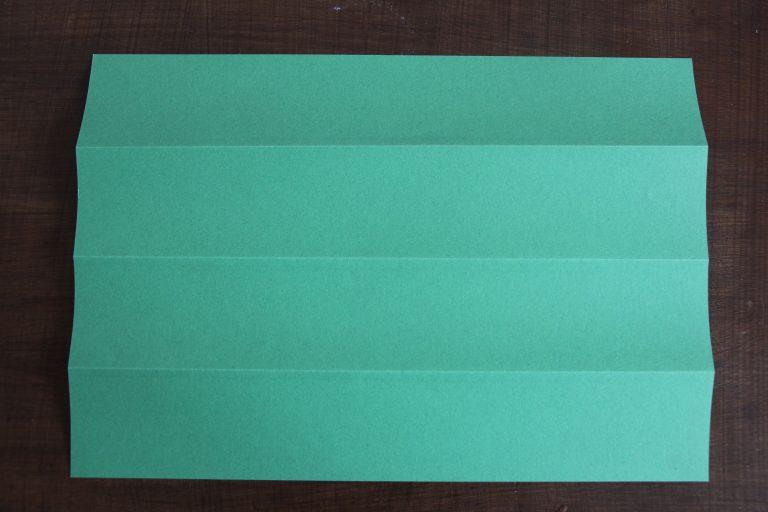 papier de couleur verte