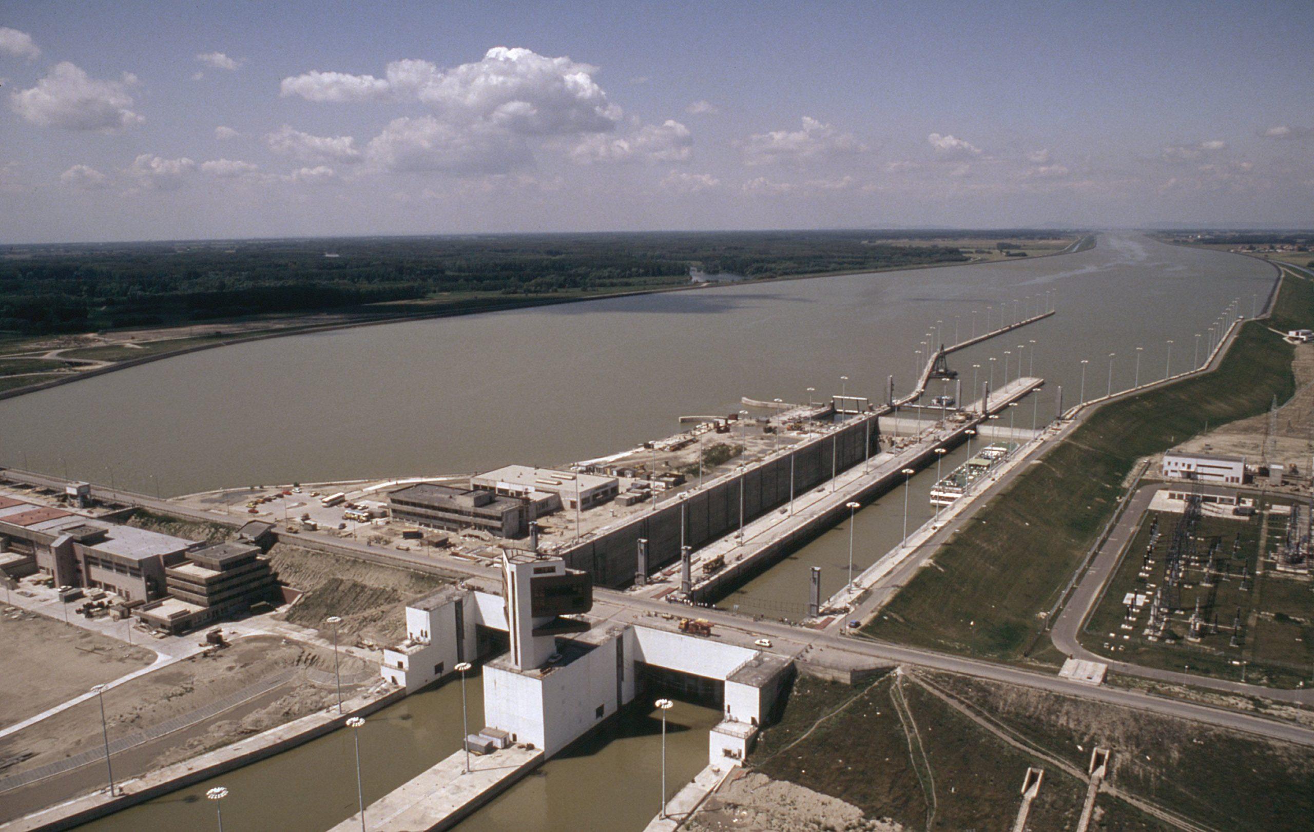 Wasserkraftwerk in der Slowakei